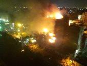 اختناق 3 أشخاص خلال السيطرة على حريق أحد الأبراج فى شبرا الخيمة
