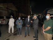 محافظة القليوبية: برج شبرا الخيمة الذى شب به حريق هائل خالى من السكان