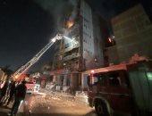 النيابة تنتدب المعمل الجنائي لمعاينة حريق داخل 3 أكشاك فى رمسيس