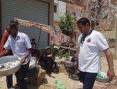فض سوق فايد فى الإسماعيلية لمواجهة كورونا.. صور