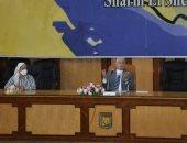 محافظ جنوب سيناء يترأس اجتماع المتابعة الأعمال الجارية على مستوى المحافظة