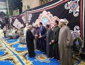 شاهد عزاء الشيخ محمد الطبلاوى بمنزله فى المنوفية