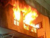 ربه منزل تشعل النيران بغرفة نومها لرفض زوجها زيارتها لأسرتها بالخانكة