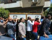 دفن جثمان الشيخ الطبلاوى في مقابر الإباجية بالقاهرة.. فيديو