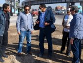 محافظ الإسكندرية يكلف السكرتير العام لتوسعة مدخل شارع الجيش بالكافورى(صور)