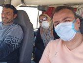 بعد تعافيه من كورونا.. نائب مدير مستشفى النجيلة: راجع لحضن بناتى أشحن منهم طاقة