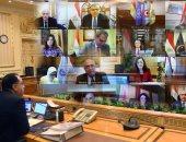 صور.. مصطفى مدبولي يرأس اجتماع الحكومة لإعلان موقف حظر التجوال بقية رمضان