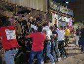 محافظة الجيزة تزيل تعديات وإشغالات سوق البطران في الهرم