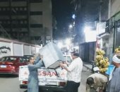 ضبط 25 مخالفة مرافق فى حملة على الأسواق بحى شرق سوهاج