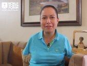 رسالة أول طيار بلا ذراع فى العالم بشأن كورونا: نساعد بعضنا بالتشجيع.. فيديو