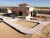 توصيل المرافق لسوق الجملة الجديد غرب مدينة العريش بشمال سيناء