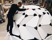 اختبار مسكن للقمر قابل للطى مستوحى من فن الأوريجامى فى جرينلاند (صور)