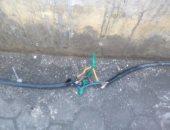 """""""مصائد الموت"""".. شكوى من أسلاك كهرباء بجوار مستشفى العباسية بمدينة نصر"""