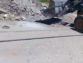 رفع 30 طن من الأتربة والقمامة بمركز جرجا فى حملة نظافة بسوهاج