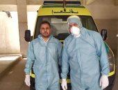 """الجيش الأبيض.. """"أحمد""""أخصائى خدمات إسعافية بمرفق إسعاف كفر الزيات"""