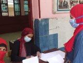 محافظ الجيزة يشدد على تعقيم المدارس خلال تسليم المشروعات البحثية