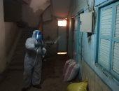 عزل 6 منازل بنجع الدير ونجع أبو حسين فى سوهاج بعد ظهور حالة إيجابية