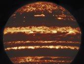 """""""البقعة الحمراء العظيمة""""..كوكب المشترى كما لم تشاهده من قبل (صور وفيديو)"""