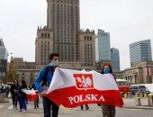 """وقفة احتجاجية فى بولندا للمطالبة بإلغاء إجراءات حظر """" كورونا """""""