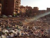 شكوى من تراكم القمامة فى منطقة الكوم الأخضر بالهرم