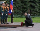 عروض جوية للجيش الروسى فى عيد النصر وبوتين يضع الزهور بضريح الجندى المجهول