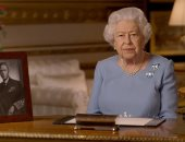 """""""شوارعنا مليئة بالحب"""".. شاهد خطاب ملكة بريطانيا في يوم النصر فيديو"""
