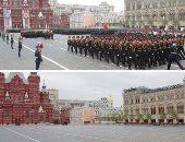 شاهد ماذا فعلت كورونا فى احتفالات روسيا بعيد النصر.. صور