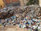 شكوى من تراكم القمامة فى شارع الهانوفيل بالعجمى محافظة الإسكندرية