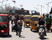 مظاهرات فى بغداد ضد حكومة الكاظمى رغم المخاوف من كورونا