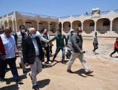 محافظ بورسعيد يوجه بسرعة إقامة بدال تموينى بسهل الطينة شرق بورسعيد