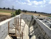 تنفيذ 70% من محطة صرف صحى ديرب نجم لخدمة 12 قرية