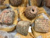 حجز 6 أشخاص ضبطوا أثناء شرائهم قطع أثرية مقلدة فى النزهة