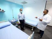 وزير السياحة يتفقد العيادات الطبية بفنادق البحر الأحمر للتأكد من ضوابط السلامة