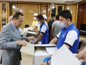 وصول مساعدات مواد غذائية وطبية لشمال سيناء لتوزيعها على الأهالى