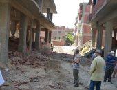 محافظ القليوبية: تحقيق هيبة الدولة وإزالة مخالفات البناء وإحالة المتعدين للنيابة