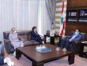 سعد الحريرى يلتقى سفراء النرويج وسويسرا وكندا لبحث الأوضاع فى لبنان