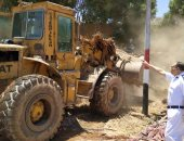 إزالة 8 تعديات على الأراضي الدولة فى أسوان