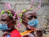 تسريحة كورونا.. موضة تصفيف شعر جديدة تزدهر فى إفريقيا الوسطى.. صور