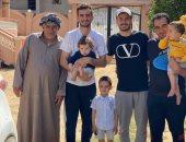 زيارة عائلية من ونش الزمالك إلى محمود دونجا