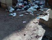 شكوى من تراكم القمامة بشارع أبو درع في باب الخلق بحى عابدين
