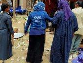صور.. فض سوق قشطوخ منعا للتزاحم بسبب فيروس كورونا بالمنوفية