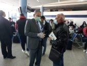صور ..6 آلاف و400 عالق مصرى بالخارج وصلوا لمطار مرسى علم منذ أبريل الماضى