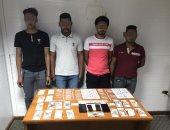 القبض على 4 متهمين بحوزتهم 130 تذكرة هيروين وفيرجينيا فى الإسماعيلية