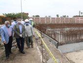 فيديو وصور.. محافظ المنوفية يتفقد توسعات محطة معالجة صرف صحى الغورى