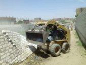 مراكز المنيا تزيل 93 حالة تعد بالبناء المخالف على الأرضى الزراعية وأملاك الدولة (صور)