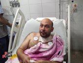 فيديو.. فقد بصره فى حرب بلا قلب..قصة الطبيب البطل محمد سامى مع كورونا