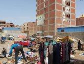 مجلس مدينة قطور فى الغربية يشن حملات لفض 3 أسواق عشوائية.. صور