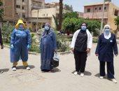 صور.. تعافى أول حالة مصابة بكورونا داخل مستشفى الحميات فى بنى سويف