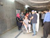 محافظ كفرالشيخ يتابع حالة الطبيب محمود سامى قنيبر ويوجه بدعمه