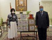محافظة القاهرة تتسلم مواد غذائية ومستلزمات طبية لتوزيعها على الفئات الأكثر احتياجا